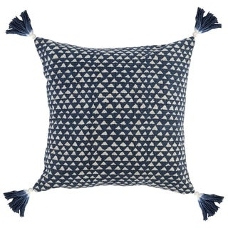 The Curated Nomad Ross 20-inch Cotton Throw Pillow