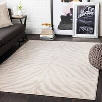 Niamey Khaki Animal Print Area Rug - 7'10 x 10'3