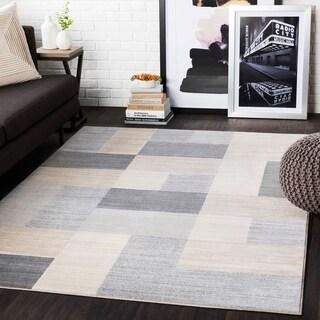 """Liliana Grey Contemporary Area Rug - 7'10"""" x 10'3"""""""