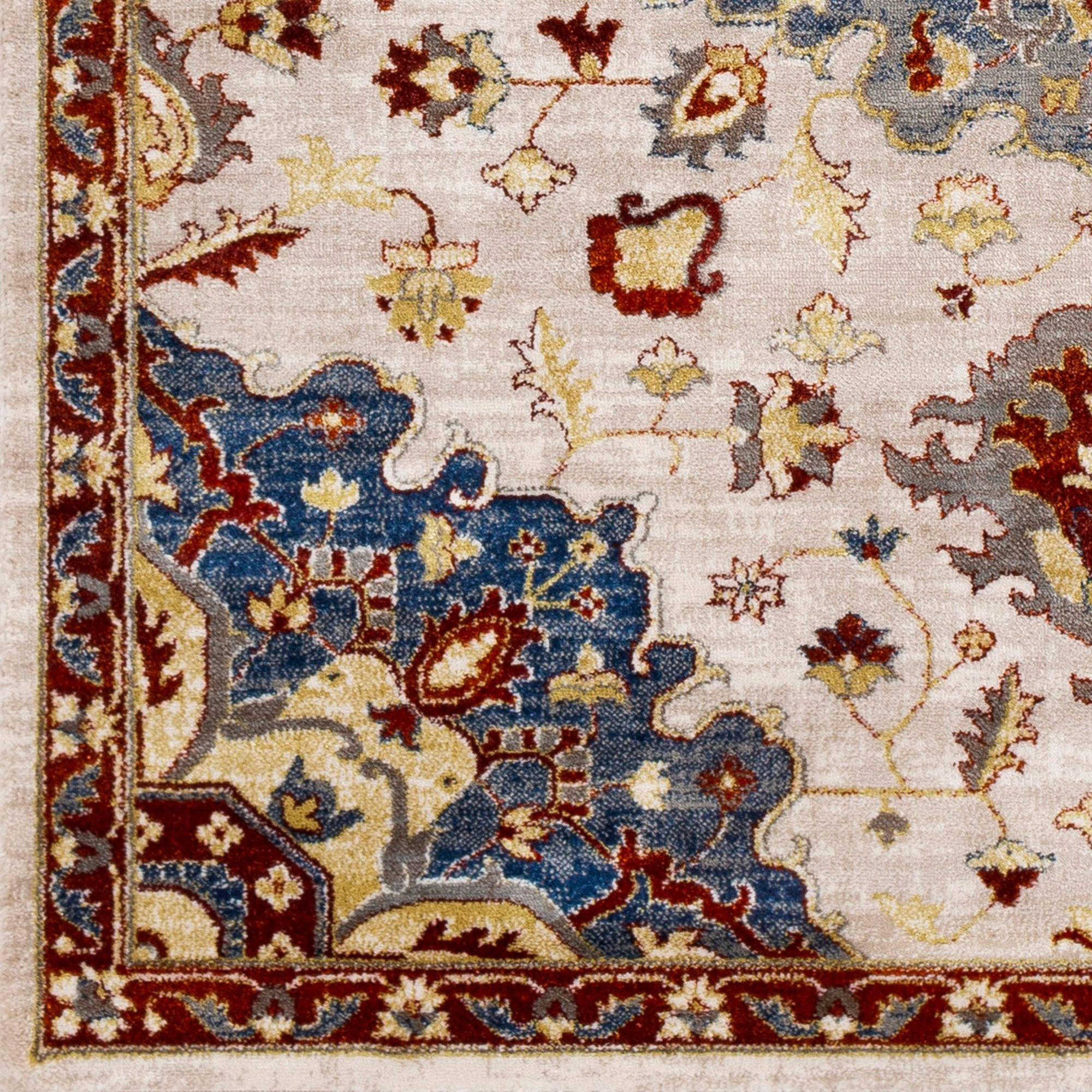 Picture of: Beckham Burgundy Navy Traditional Area Rug 2 X 3 On Sale Overstock 22798658