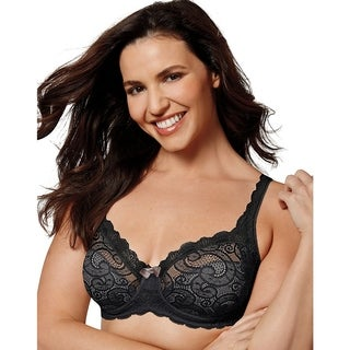 Playtex Womens Love My Curves Sexy Lift UW Bra (US4825)