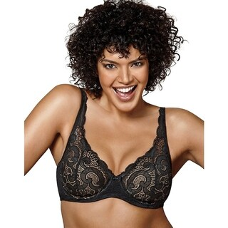 Playtex Womens Love My Curves Lift Lightly Lined Underwire Bra (US4514)