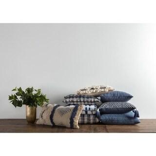 Kosas Home Aberdeen 100% Cotton 22-inch Throw Pillow