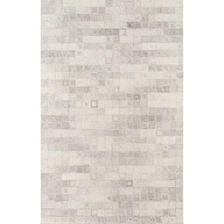 Momeni Cortland Hand Tufted Wool Beige Area Rug - 8' x 10'