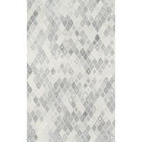 Momeni Cortland Grey Wool Hand Tufted Area Rug - 8' x 10'