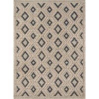 """Momeni Andes Hand Woven Viscose and Wool Beige Area Rug - 8'9"""" x 11'9"""""""