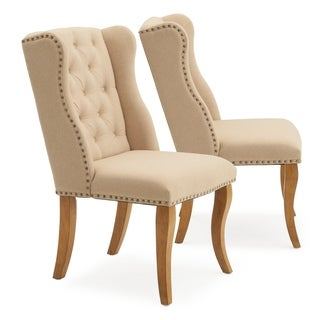 Avingnon Tufted Dining Chair in Beige by RST Brands®