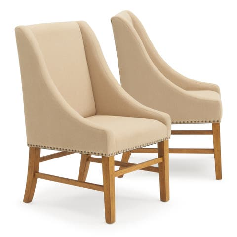 Bella Dining Chair in Beige by RST Brands
