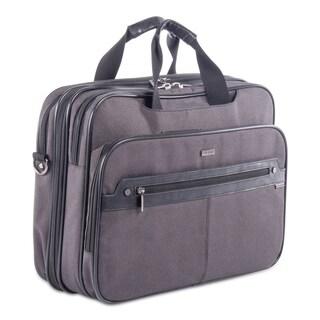 Harry Executive Briefcase, Grey