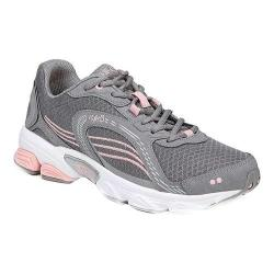 Women's Ryka Ultimate Grey/Rose/Silver Mesh/Leather