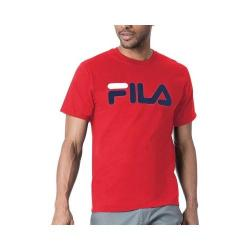 Men's Fila FILA Logo Tee Chinese Red/Combo 5