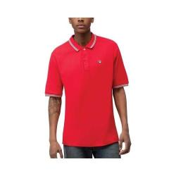Men's Fila Matcho 3 Polo Chinese Red