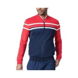 Men's Fila Naso Jacket Peacoat/Chinese Red/Cream