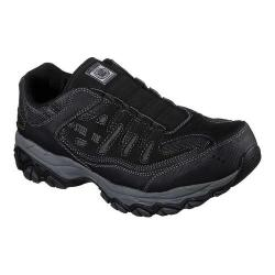 Men's Skechers Work Crankton Ebbitt Steel Toe Shoe Black