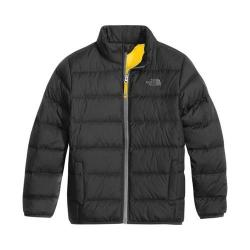 Boys' The North Face Andes Jacket Graphite Grey/Canary Yellow