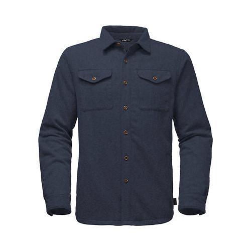 b4d14590b Men's The North Face Cabin Fever Wool Shirt Urban Navy