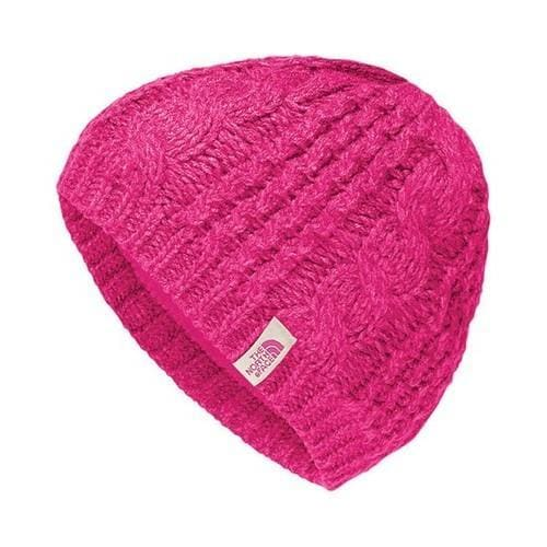 North Face Cable Minna Beanie Petticoat Pink (US One Size...