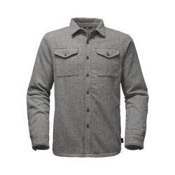 Men's The North Face Cabin Fever Wool Shirt TNF Medium Grey Heather