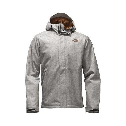 7c93d4e71f14 Shop Men s The North Face Inlux Insulated Jacket Monument Grey Herringbone  - Free Shipping Today - Overstock - 19390600