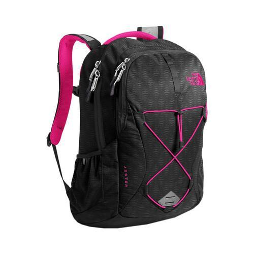 Women's The North Face Jester Backpack TNF Black Emboss/P...
