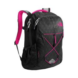 Women's The North Face Jester Backpack TNF Black Emboss/Petticoat Pink