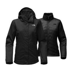 Women's The North Face Mossbud Swirl Triclimate Jacket TNF Black