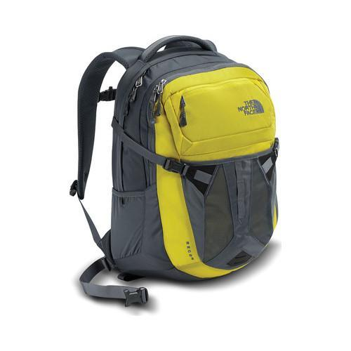 763521655d1d Shop The North Face Recon Backpack Acid Yellow Turbulence Grey - Free  Shipping Today - Overstock - 19390715