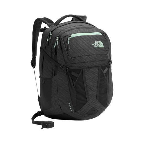 b33217ce7e Shop Women s The North Face Recon Backpack Asphalt Grey Dark Heather Subtle  Green - Free Shipping Today - Overstock - 19390722