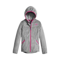 Girls' The North Face Oso Hoodie Metallic Silver