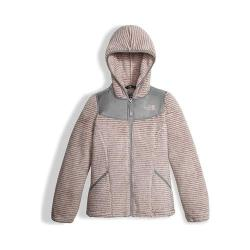 Girls' The North Face Oso Hoodie Purdy Pink Stripe
