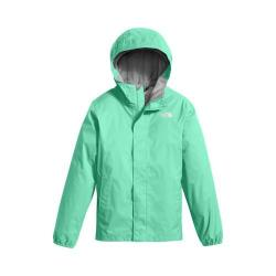 Girls' The North Face Resolve Reflective Jacket Bermuda Green