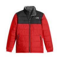 Boys' The North Face Reversible Mount Chimborazo Jacket TNF Red