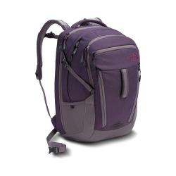 The North Face Surge Women Laptop Backpack Dark Eggplant