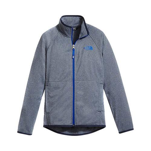 Boys' The North Face Tech Glacier Full Zip Cosmic Blue Heather