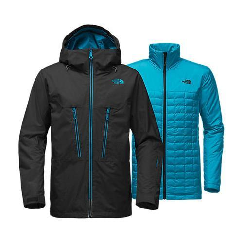82940f77e7 Shop Men s The North Face ThermoBall Snow Triclimate Jacket TNF Black -  Free Shipping Today - Overstock - 19390823