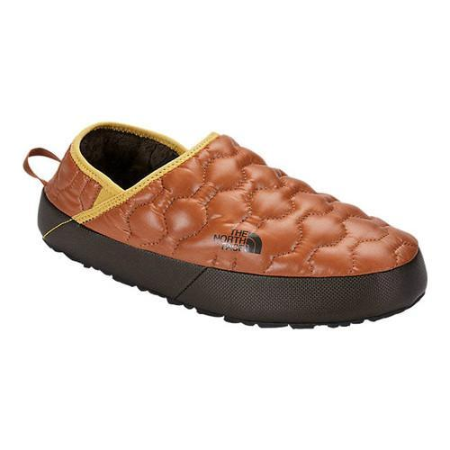 d71e93d34 Men's The North Face ThermoBall Traction Mule IV Shiny Gingerbread  Brown/Bright Gold