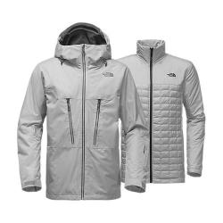 Men's The North Face ThermoBall Snow Triclimate Jacket High Rise Grey
