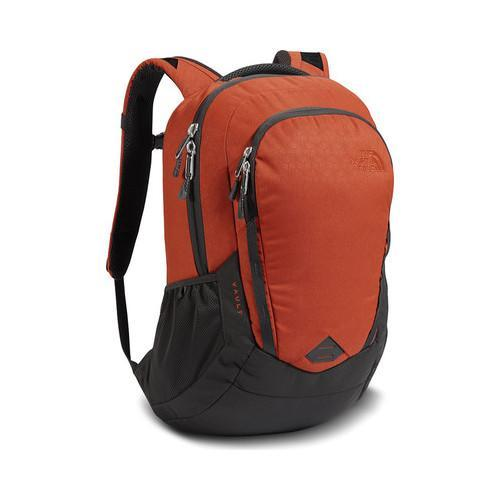 6cc39ca216 Shop The North Face Vault Backpack Ketchup Red Emboss Asphalt Grey - Free  Shipping On Orders Over  45 - Overstock - 19390873
