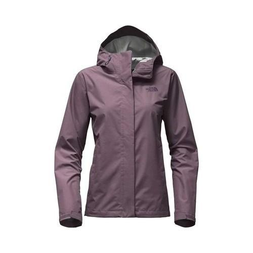 Shop Women s The North Face Venture 2 Jacket Black Plum Heather - Free  Shipping Today - Overstock - 19390878 f2fcf2a1f