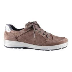 Women's ara Nicole 49493 Sneaker Teak Suede