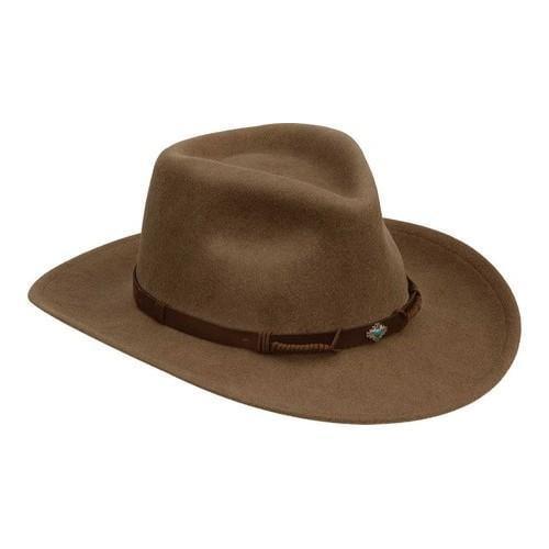 Black Creek BC2041 Wool Hat Putty (US L (Hat 7 1/4-7 3/8,...