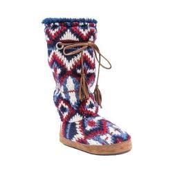 Women's MUK LUKS Grace Slipper Boot Multi/Diamond