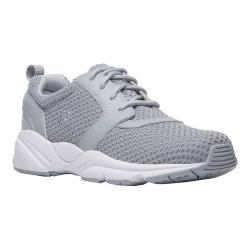 Women's Propet Stability X Walking Sneaker Light Grey Mesh