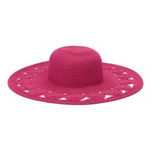 f555c984a325e Women s San Diego Hat Company Ultrabraid Sun Hat UBL6481 Hot Pink
