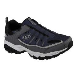 Men's Skechers After Burn M. Fit Slip-On Walking Shoe Navy/Gray (More options available)
