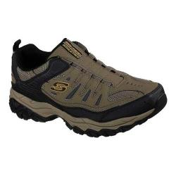 Men's Skechers After Burn M. Fit Slip-On Walking Shoe Pebble - Thumbnail ...