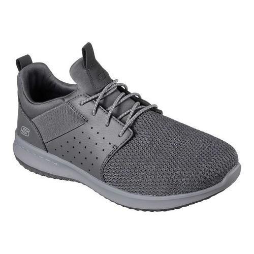 Men's Skechers Delson Camben Slip-On Sneaker Gray