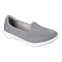 Women's Skechers GOwalk Lite Shanti Slip-On Walking Shoe Gray