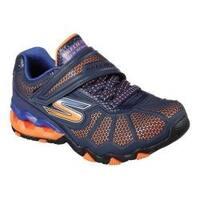 Boys' Skechers Hydro Static Sneaker Orange/Navy