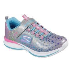 Girls' Skechers Jumpin Jams Cosmic Cutie Sneaker Gray/Multi